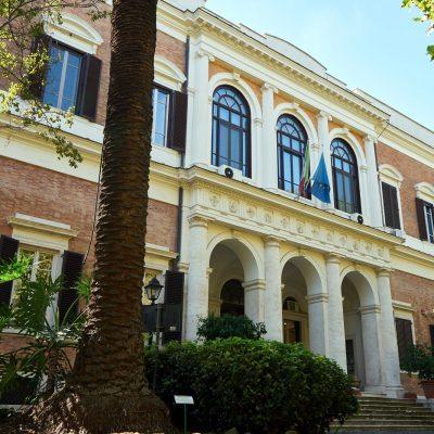 Facciata dell'edificio sede dell'ICPAL